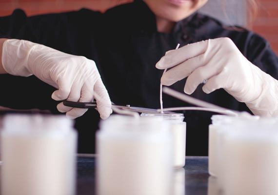 Spezialität der Shearer Kerzen